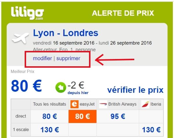 alertes prix liligo.com 7
