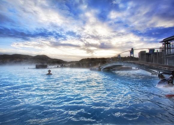 lagon bleu Islande