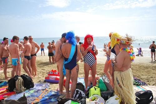 La gay-pride à Maspalomas