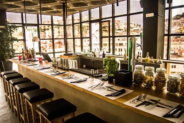 bar restaurant terrasse lisbonne