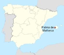 Palma de Majorque carte