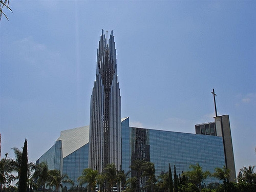cathédrale cristal californie
