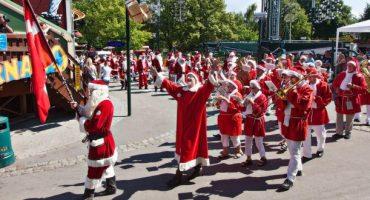 C'est le congrès mondial des Pères Noël !