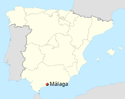 malaga-map-spain