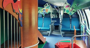 En Suisse, les wagons-famille font du train un paradis pour enfants