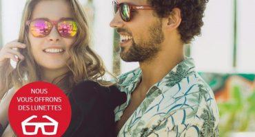 Iberia vous emmène à la plage et… vous offre des lunettes de soleil