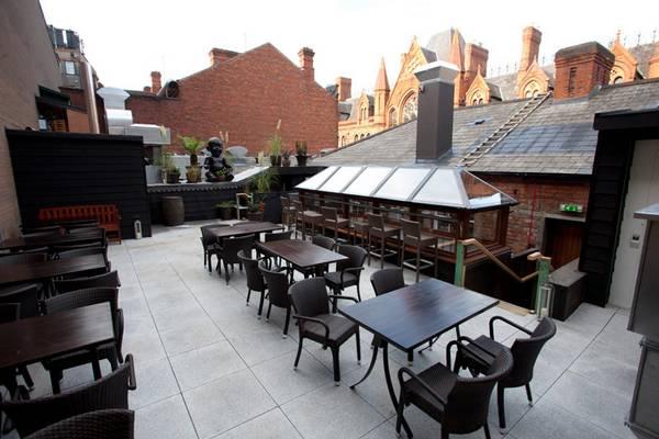 rooftop winter garden fade social