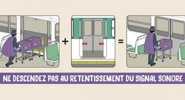 Les consignes de sécurité AIRATP : la RATP se prend pour une compagnie aérienne