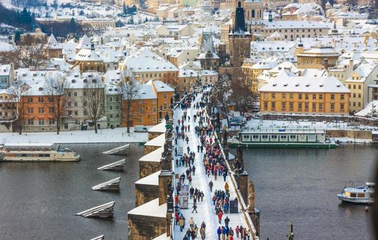 Le pont Charles - Prague