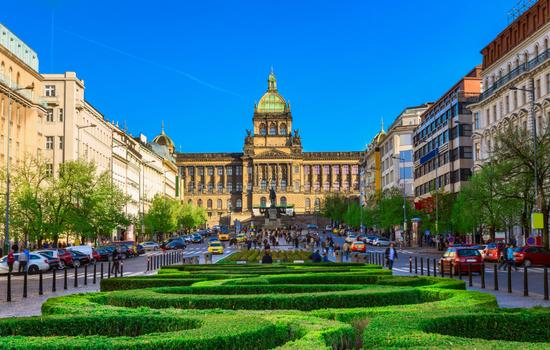 Place Venceslas - Prague