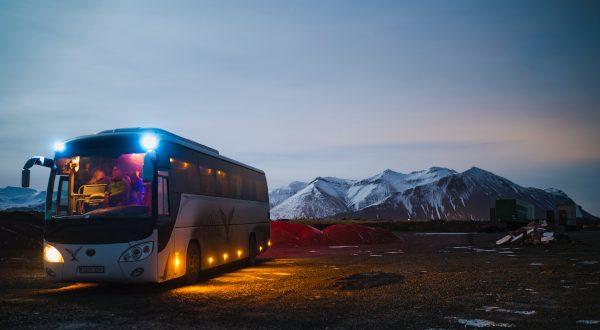 Bus paysage