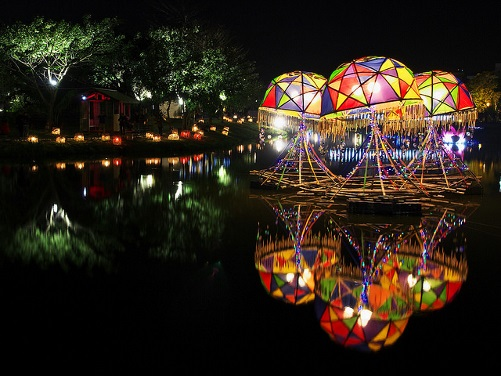 Festival des lanternes à Tainan