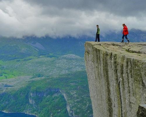 Norvège Rocher
