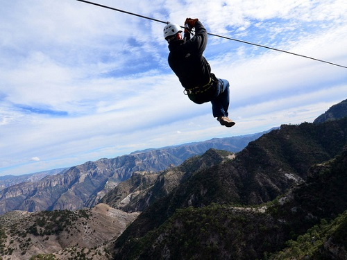 Canyon de Cuivre Mexique