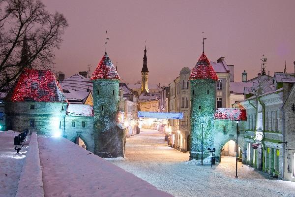 Estonie neige