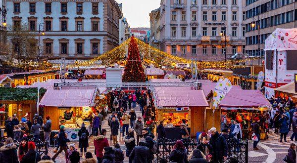 Marché de Noël Budapest