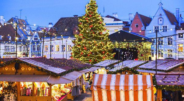 Marché de Noël Tallinn