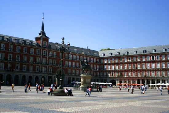 Madrid La Plaza Mayor