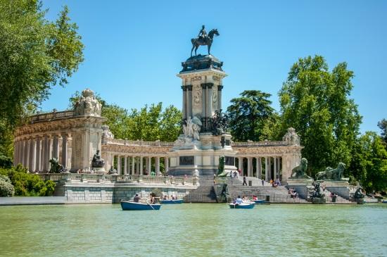 Madrid Le Parc du Retiro