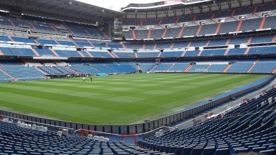 Madrid Le stade Santiago Bernabeu