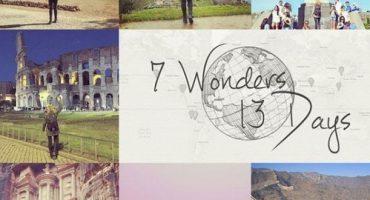 Megan Sullivan a visité les 7 merveilles du monde en 13 jours