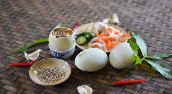 Balut, embryon de poule