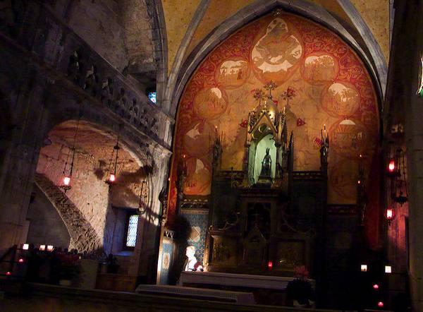 La Vierge Noire à Rocamadour, en France (par tourisme-lot.com / Flickr cc.).