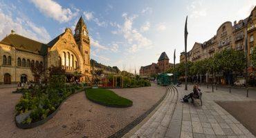 Metz, la plus belle gare de France !