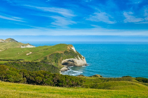 Cape Farewell, Able Tasman national park New Zealand