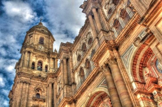 La cathédrale de Malaga Espagne
