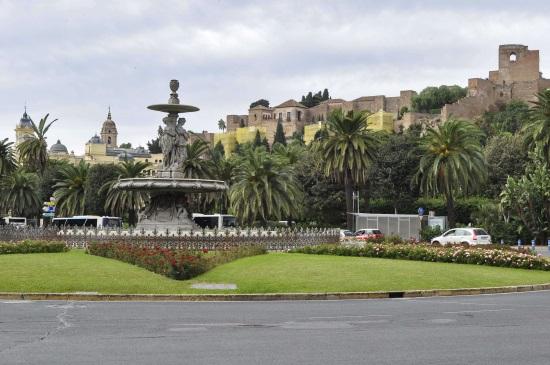 Le château de Gibralfaro Malaga