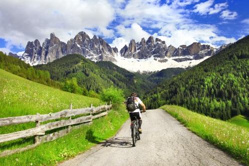 Dolomites vélo