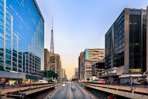 Avenue Paulista Sao Paulo