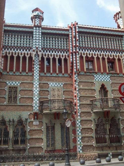 Barcelone façade Casa Vicens