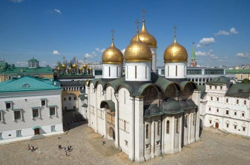 Cathédrale de la Dormition de Moscou Russie
