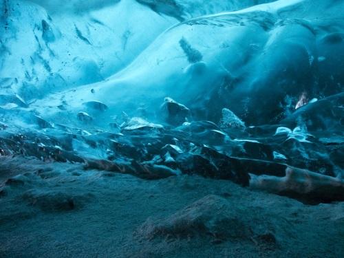 tunnel de glace du glacier Langjökull