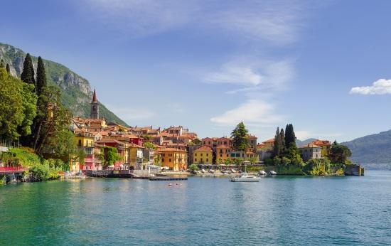 Le lac de Côme Italie