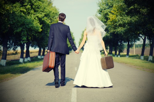 Travel and wedding
