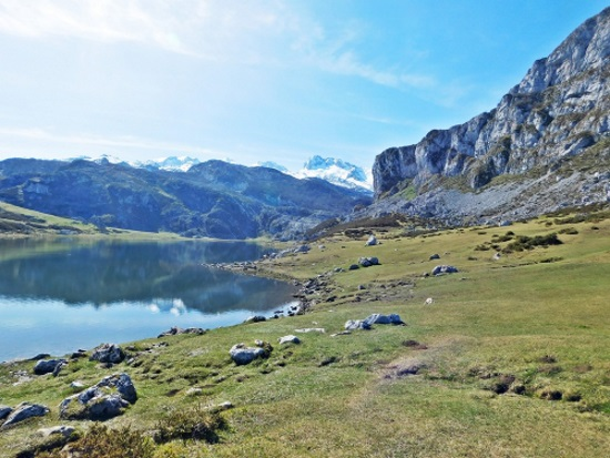 covadonga lakes Spain