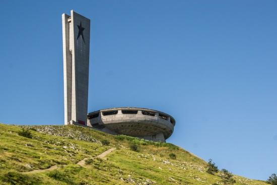 Le monument de Buzludzha Bulgarie