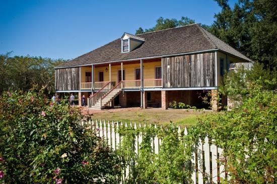 Maison plantation en Louisiane