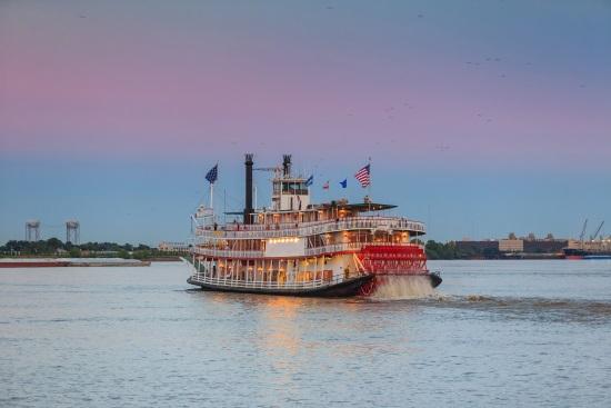 Steamer boat New Orlean