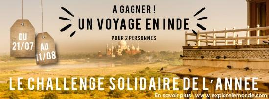Explore le Monde Le challenge solidaire de l'année