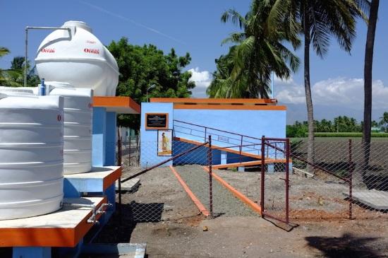 Kynarou Inde système de filtration et complexe sanitaire