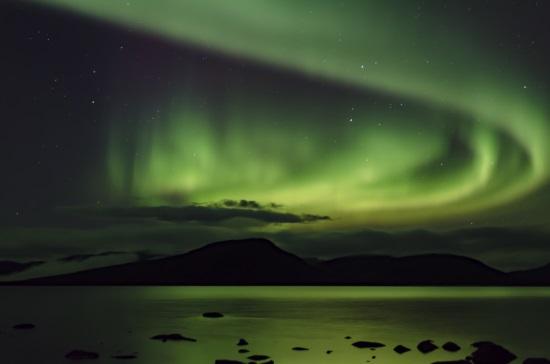Laponie finlandaise ou suèdoise aurores boréales