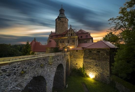 L'école de magie à Czocha en Pologne