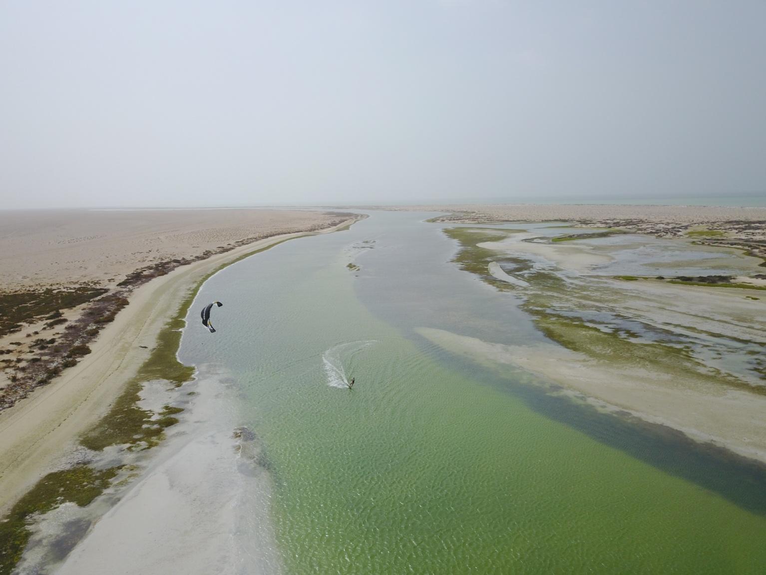 Le spot inexploré du kite - Oman