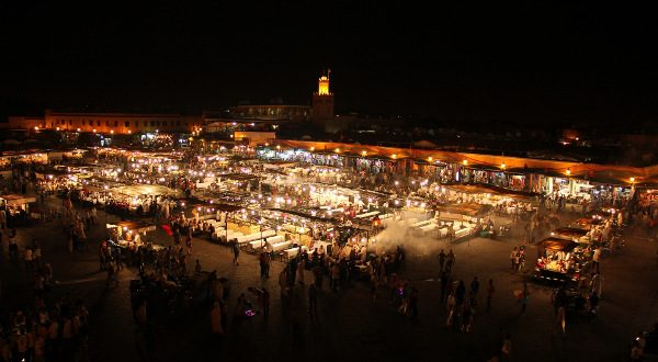 Jemaa-el-Fna, Maroc