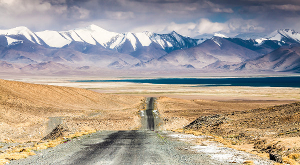 Route-Pamir-Tadjikistan