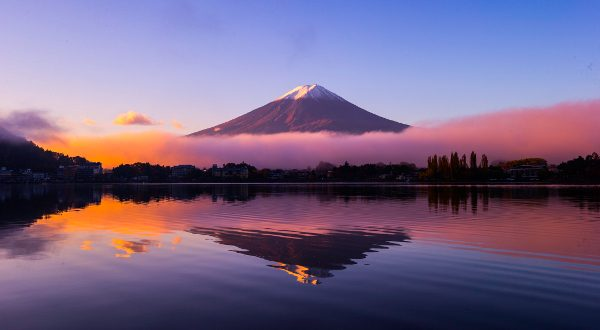 Mont Fudji Japon